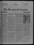 Kenyon Collegian - September 14, 1989