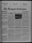 Kenyon Collegian - September 28, 1989