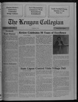 Kenyon Collegian - November 9, 1989