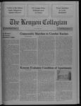 Kenyon Collegian - December 7, 1989