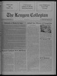 Kenyon Collegian - December 14, 1989