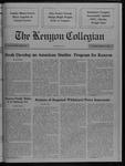 Kenyon Collegian - February 8, 1990