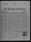 Kenyon Collegian - March 29, 1990