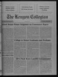 Kenyon Collegian - April 5, 1990