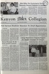 Kenyon Collegian - October 2, 1980