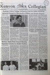 Kenyon Collegian - October 9, 1980