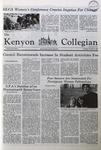 Kenyon Collegian - November 13, 1980