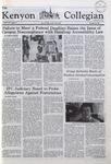 Kenyon Collegian - November 20, 1980