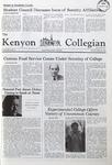 Kenyon Collegian - January 22, 1981