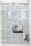 Kenyon Collegian - March 5, 1981