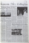 Kenyon Collegian - April 9, 1981