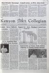 Kenyon Collegian - April 16, 1981