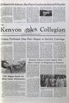 Kenyon Collegian - May 6, 1981