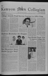 Kenyon Collegian - September 17, 1981