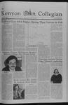 Kenyon Collegian - October 1, 1981
