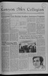 Kenyon Collegian - October 22, 1981