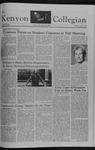 Kenyon Collegian - October 29, 1981