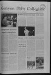 Kenyon Collegian - January 27, 1982