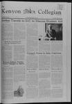 Kenyon Collegian - February 17, 1982