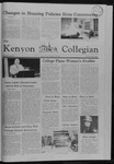 Kenyon Collegian - April 1, 1982