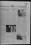 Kenyon Collegian - April 14, 1982