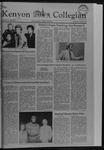 Kenyon Collegian - April 29, 1982