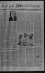 Kenyon Collegian - September 16, 1982