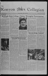 Kenyon Collegian - September 30, 1982
