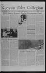 Kenyon Collegian - October 14, 1982