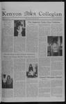 Kenyon Collegian - October 28, 1982