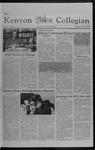 Kenyon Collegian - November 18, 1982