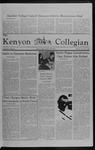 Kenyon Collegian - December 9, 1982