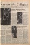 Kenyon Collegian - October 30, 1975