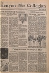 Kenyon Collegian - November 6, 1975