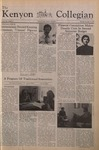 Kenyon Collegian - December 11, 1975