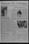 Kenyon Collegian - September 9, 1976