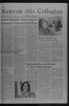 Kenyon Collegian - September 23, 1976