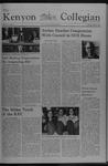 Kenyon Collegian - October 7, 1976