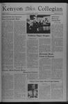 Kenyon Collegian - October 21, 1976