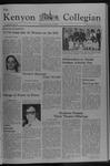 Kenyon Collegian - December 9, 1976