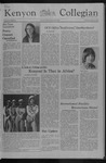 Kenyon Collegian - February 17, 1977