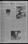 Kenyon Collegian - March 3, 1977