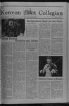 Kenyon Collegian - May 5, 1977