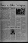 Kenyon Collegian - May 26, 1977