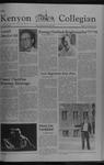 Kenyon Collegian - September 15, 1977