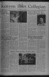 Kenyon Collegian - September 22, 1977
