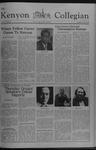 Kenyon Collegian - October 13, 1977