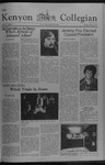 Kenyon Collegian - October 27, 1977