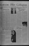 Kenyon Collegian - November 10, 1977
