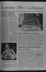 Kenyon Collegian - March 30, 1978